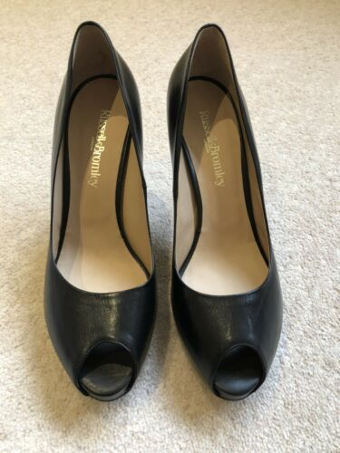 Shoes Size 41 Bromley Toe Elegant Ladies £295 Heels Peep Rrp High Russell Court wXItfxx