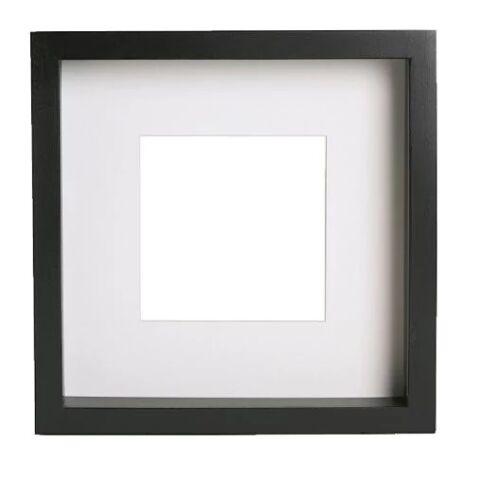 New Square Ikea Deep Shadow Box Photo Frame Black 23cm x 23cm Scrabble Authentic