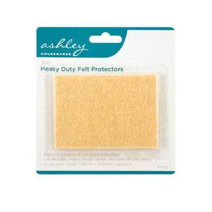 Ashley Heavy Duty Peel & Stick Felt Floor Protector Pad x2 Pcs