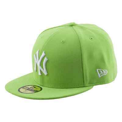 NEW ERA CAPPELLO CON VISIERA PIATTA LEAGUE BASIC NEW YORK YANKEES VERDE
