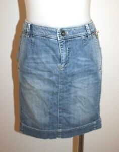 MARCCAIN-denim-stretch-skirt-size-2-AU-8-10-249-NEW