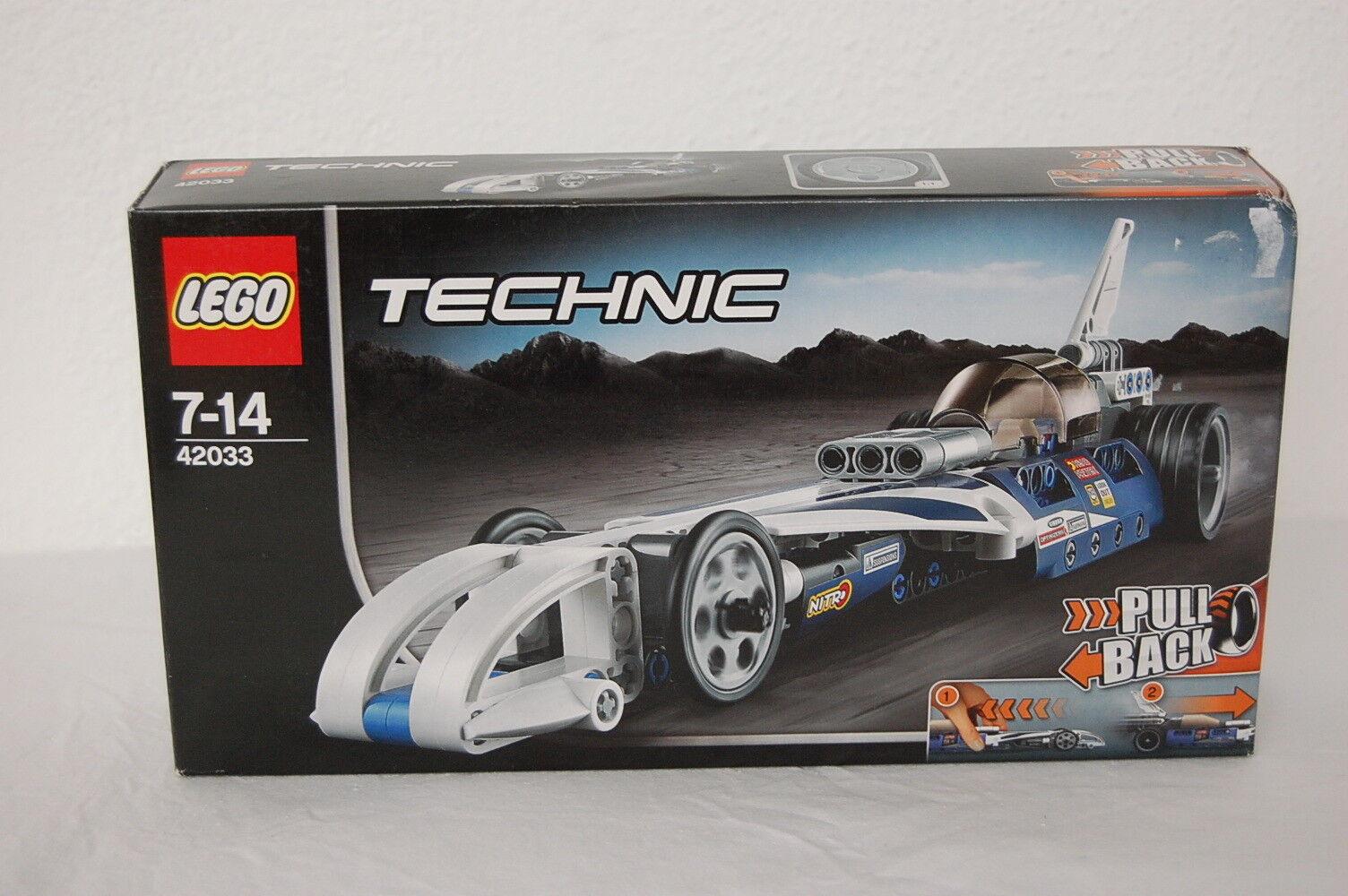 LEGO Technic 42033 Raketenauto  Neu OVP