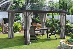 pavillon alu gestell 300x360 polycarbonat doppelstegplatten uvp 799 99 733373 ebay. Black Bedroom Furniture Sets. Home Design Ideas