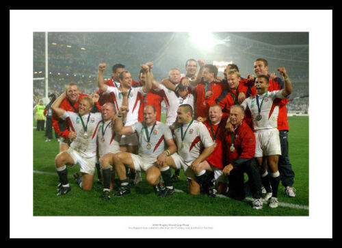 England Rugby Team 2003 Rugby World Cup Final Photo Memorabilia 612