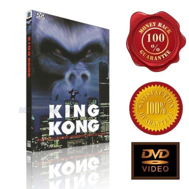 King Kong  - Fay Wray- Robert Armstrong  - (1933) - NEW DVD - E