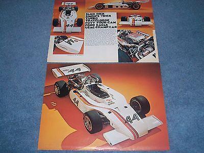 1973 Dick Simon Usac Champ Auto Vintage Artikel Foyt Four-cam Turbo Zur Verbesserung Der Durchblutung