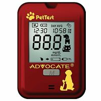 Advocate Pettest Blood Glucose Monitoring System - Calibrated For Pets Diabetes