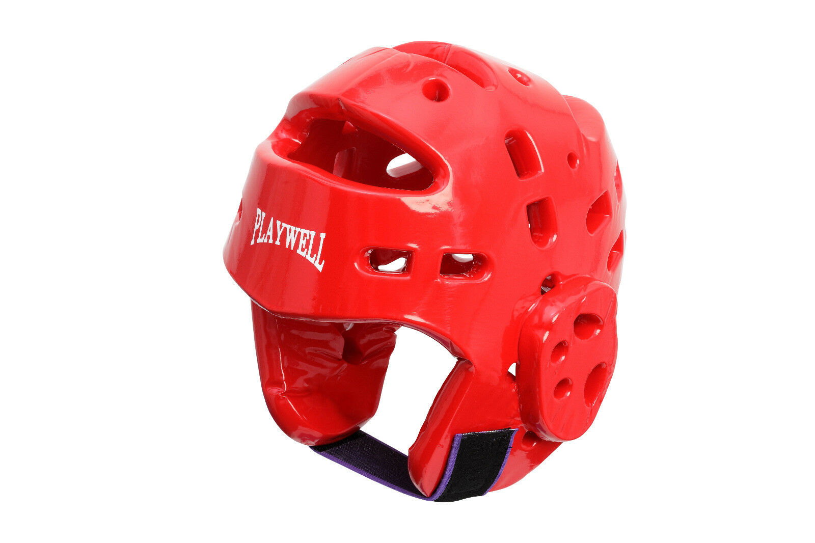 Playwell Dipped Foam Head Guard Red Taekwondo Karate Tkd Martial Arts Helmet