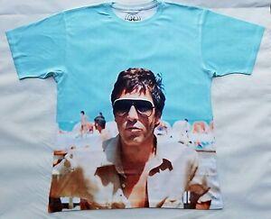 Scarface Tony Montana Beach T Sublimated shirt miami crime gangster ... 4e0256e8a61e0