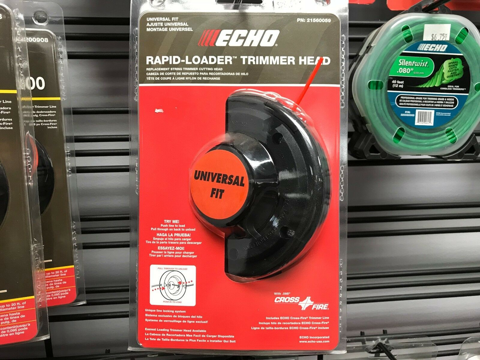 New Echo Universal Fit 3-Line Rapid Loader Head #99944200221