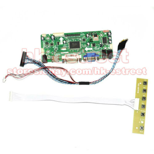 HDMI+DVI+VGA LCD Controller Board for LP156WF4-SLB2 LP156WF4 SL B2 1920*1080@USA