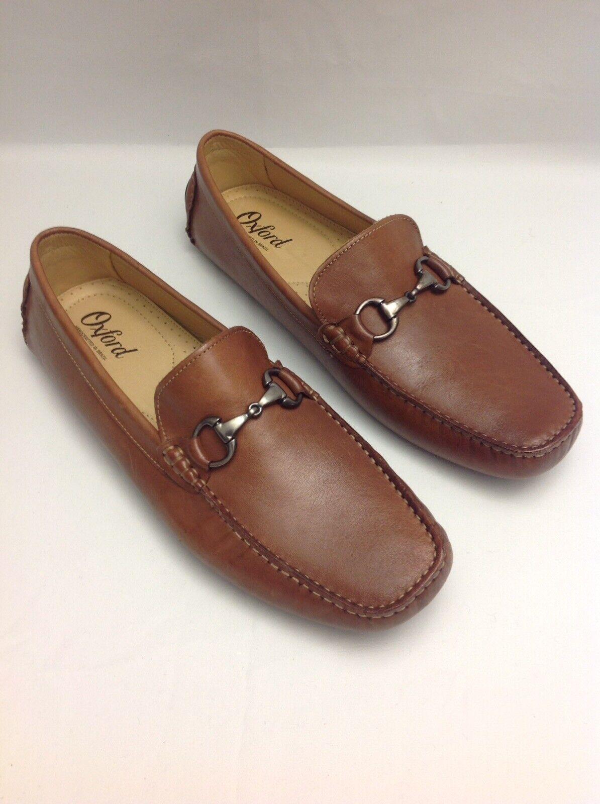 Caldwell por Oxford Driving zapatos xf1002 - 231 caoba, talla estadounidense 11,5 metros.
