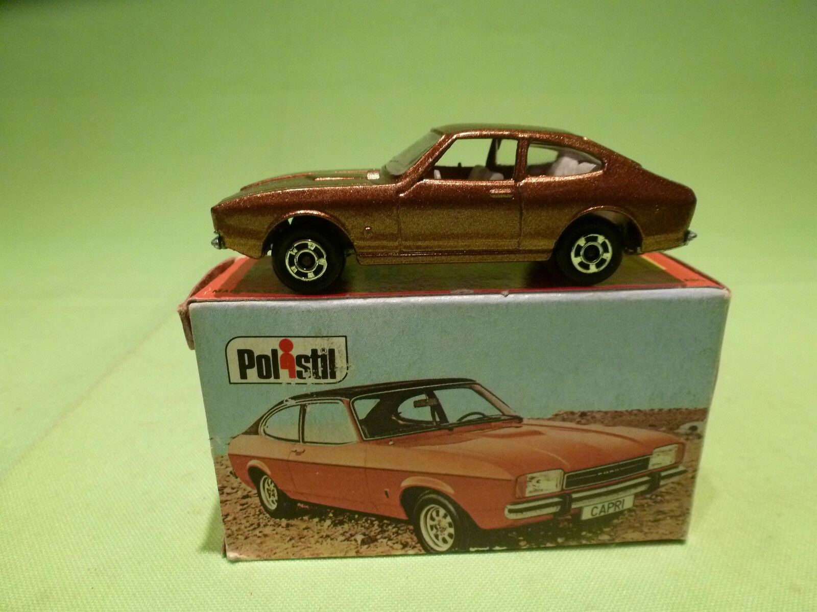 POLISTIL ART RJ.18 RJ18 FORD CAPRI II  -COPPER - GOOD CONDITION IN BOX - CLUB 33