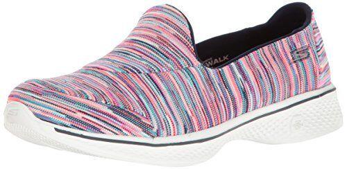 Skechers Mujer Go Go Go Walk 4 fusión de Rendimiento Caminar Zapato-seleccionar talla Color.  mejor moda