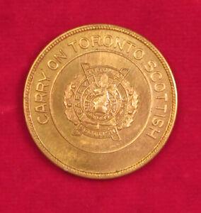 Toronto-Scottish-Regimental-Lucky-Pocket-Piece-WW2-era