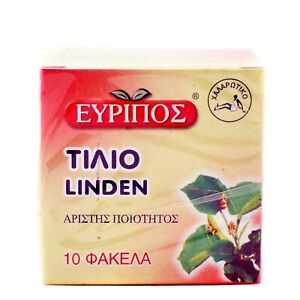 EVRIPOS-FROM-GREECE-GREEK-LINDEN-TILIO-PACKET-10-PCS