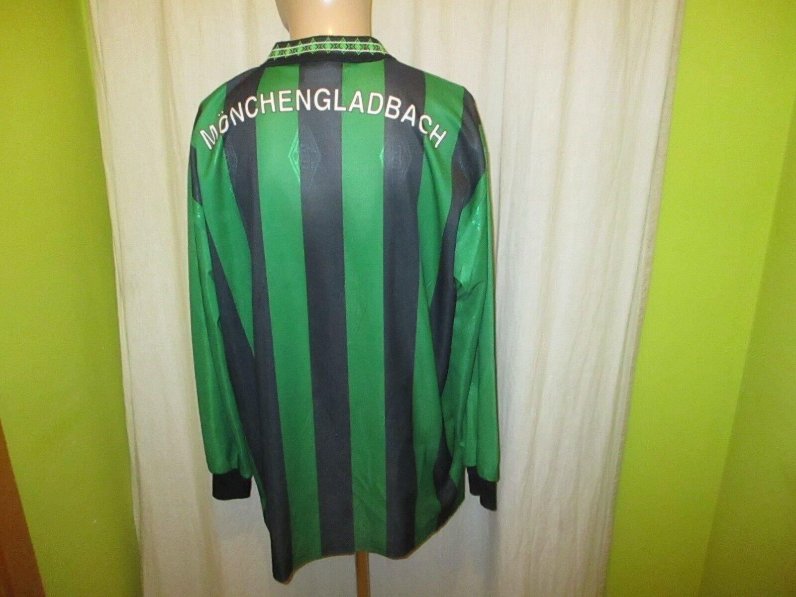 Borussia Mönchengladbach Reebok Auswärts Trikot Langarm Trikot Auswärts 1995/96
