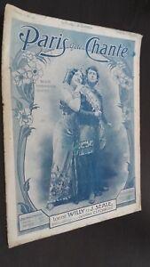 Revista Semanal Dibujada París Que Canta N º 176 Junio 1906 ABE