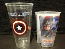 LIMITED EDITION Details about  /DUNKIN DONUTS CAPTAIN AMERICA REUSABLE 3 WAY DRINKING CUP