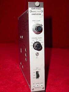 Eg-amp-g-Ortec-Amplificador-716a-Nim-Bin-modulo-plug-in