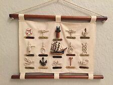 Reduced! SAILORS/SAILING/SHIP Knots Canvas/Wood/Ropes WALL ART DECOR!