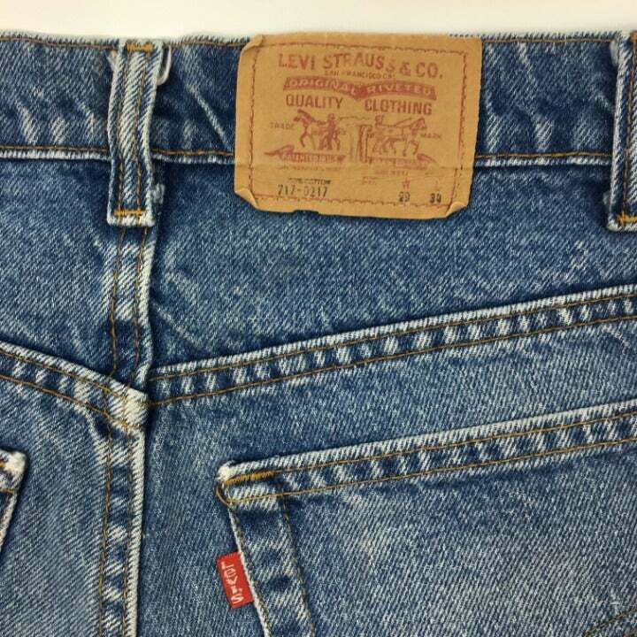 vintage levis 717-0217 made in USA - image 6