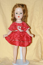 "Vintage 14"" Sweet Sue Hard Plastic Walker Doll"