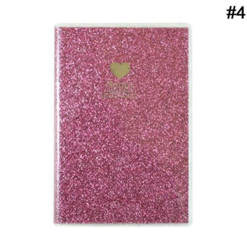 Creative PVC Notebook Monthly Planner Diary Sketchbook Office School Supply M7W8