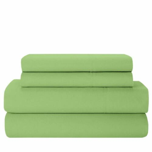 BEST BEDDING COLLECTION 100/% Egyptian Cotton 1000 TC USA Sizes Sage Solid