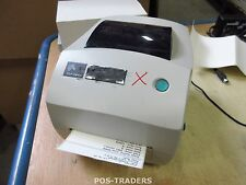 Zebra TLP2844 USB RS232 LPT Printer Thermotransferdrucker Label Printer INCL PSU