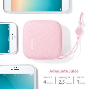 ROMOSS Portable Chargeur Externe Double USB 2.1A 10000mAh Power Bank Xmas Cadeau