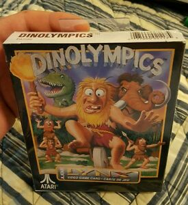 DINOLYMPICS-Atari-LYNX-New-FACTORY-Sealed-GREAT-NEW-GAME-rare-new