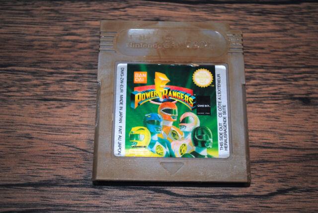 Jeu POWER RANGERS pour Nintendo Game Boy