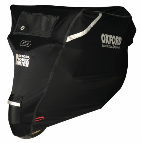 Oxford CV163 Protex Premium Stretch Extérieur Imperméable Moto Scooter cover