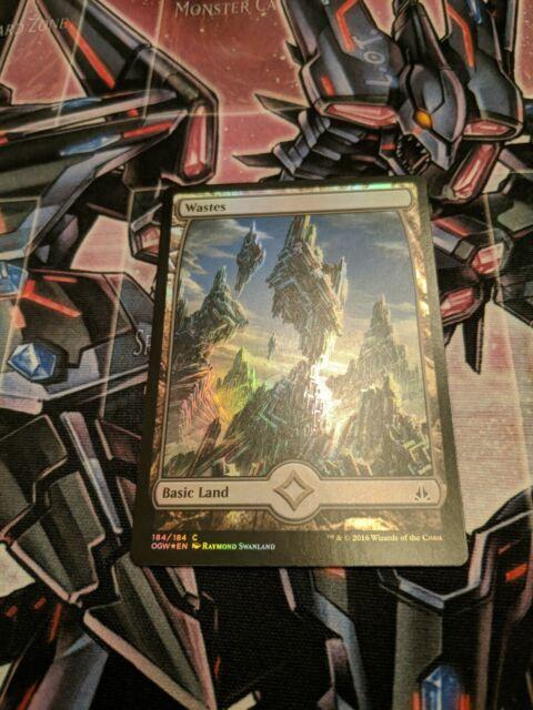 Oath Of The Gatewatch OGW Magic MTG MINT CARD FOIL WASTES 184 FULL ART