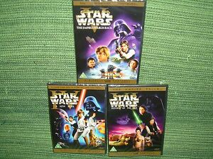 DVD-Star-Wars-Guerre-Stellari-saga-completa-trilogia-4-5-6