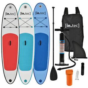 Surfboard-Stand-Up-Paddle-SUP-Board-Paddelboard-Paddling-aufblasbar-Paddel-305cm