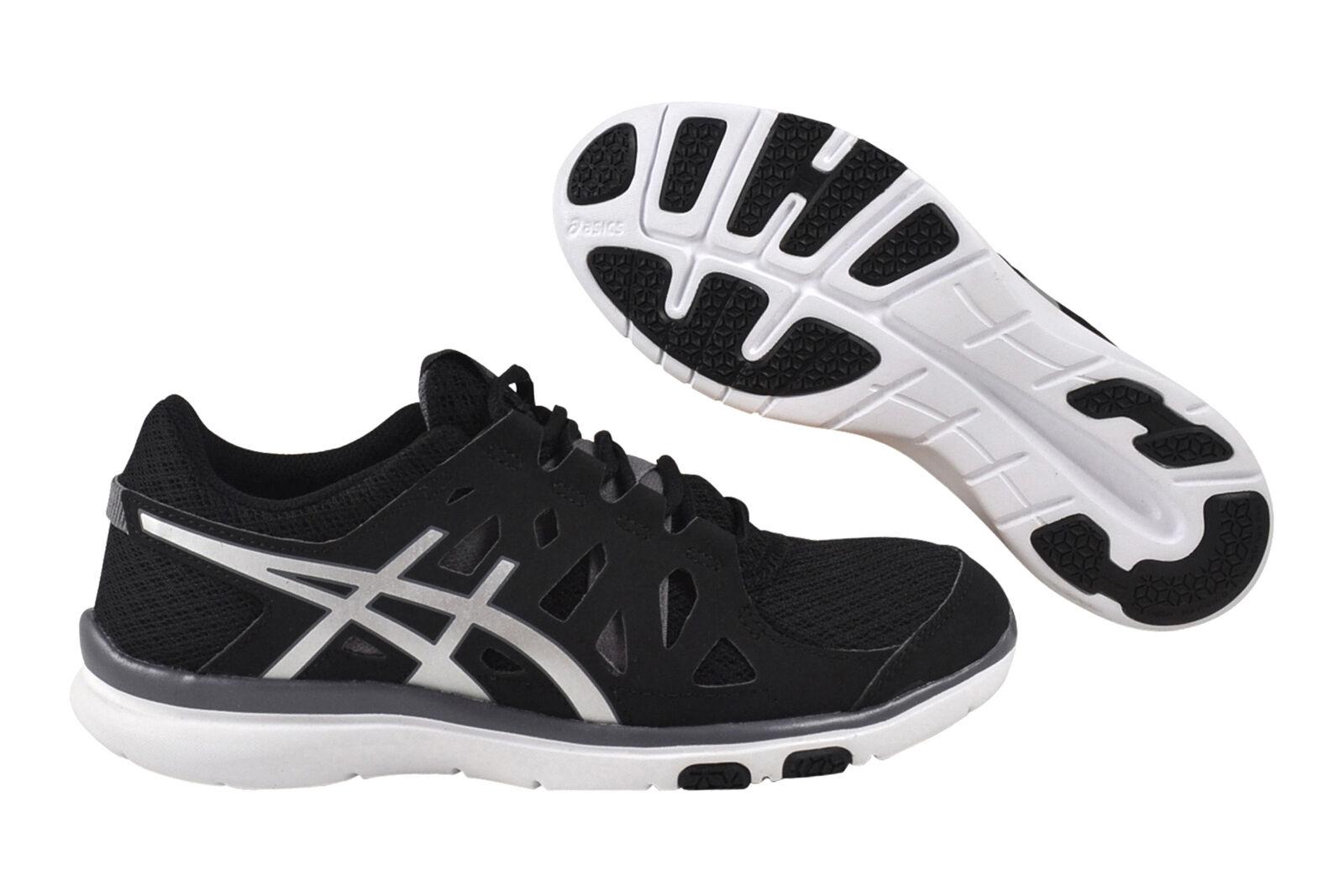 Asics GEL-Fit Tempo black/silver/charcoal Sneaker/Schuhe S464N 9093 schwarz