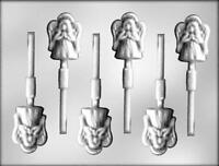 Angel Christmas Chocolate Lollipop Candy Mold From Ck 4208 -