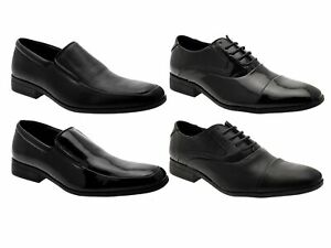 Mens Smart Oxford Lace Up Loafers Slip On Formal Work Office Wedding ... be26c4cd6ada