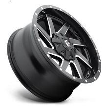 Fuel Renegade D594 20x10 8x6.5 ET-18 Black/Mained Wheels (Set of 4)