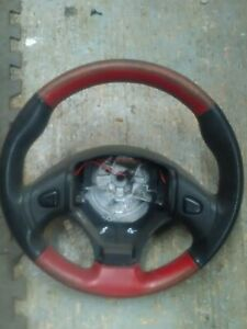 MGTF-MGF-all-years-Black-red-Leather-Steering-Wheel-for-refurbishment