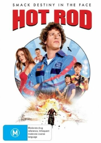 1 of 1 - Hot Rod (DVD, 2008) - PLATINUM COLLECTION - PAL - MINT