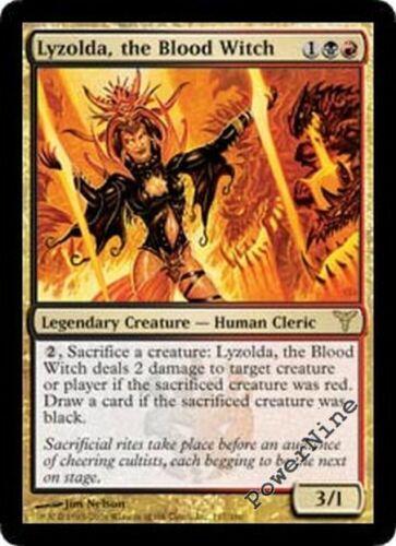Gold Dissension Mtg Magic Rare 4x x4 the Blood Witch 4 PLAYED Lyzolda