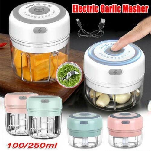 Electric Garlic Beater Garlic Masher Smashing /& Cutting Garlic Food Crusher Best
