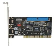 Syba SD-VIA-1A2S 2-Port SATA / 1-Port IDE PCI RAID Controller - NEW