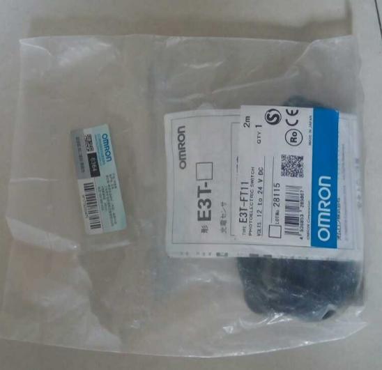 1PC NEW  Omron E3T-FT11 Photoelectric Switch Sensor E3TFT11 12-24VDC