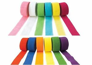 81ft-Crepe-Paper-Streamer-Roll-Wedding-Birthday-Party-Supplies-Decoration