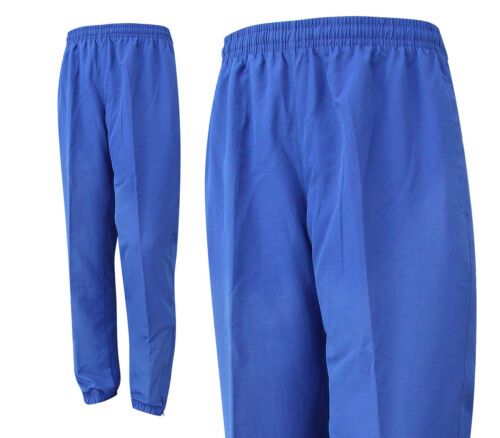 Mens Jogging Trousers Great for Gym Running Sports Waterproof Blue S M L XL