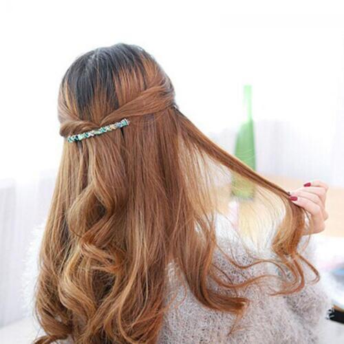 Fashion Women Hair Accessories Crystal Hairpin Hair Clip Barrette